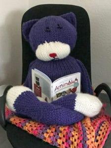 Amineko chat tricot laine bienveillancefab
