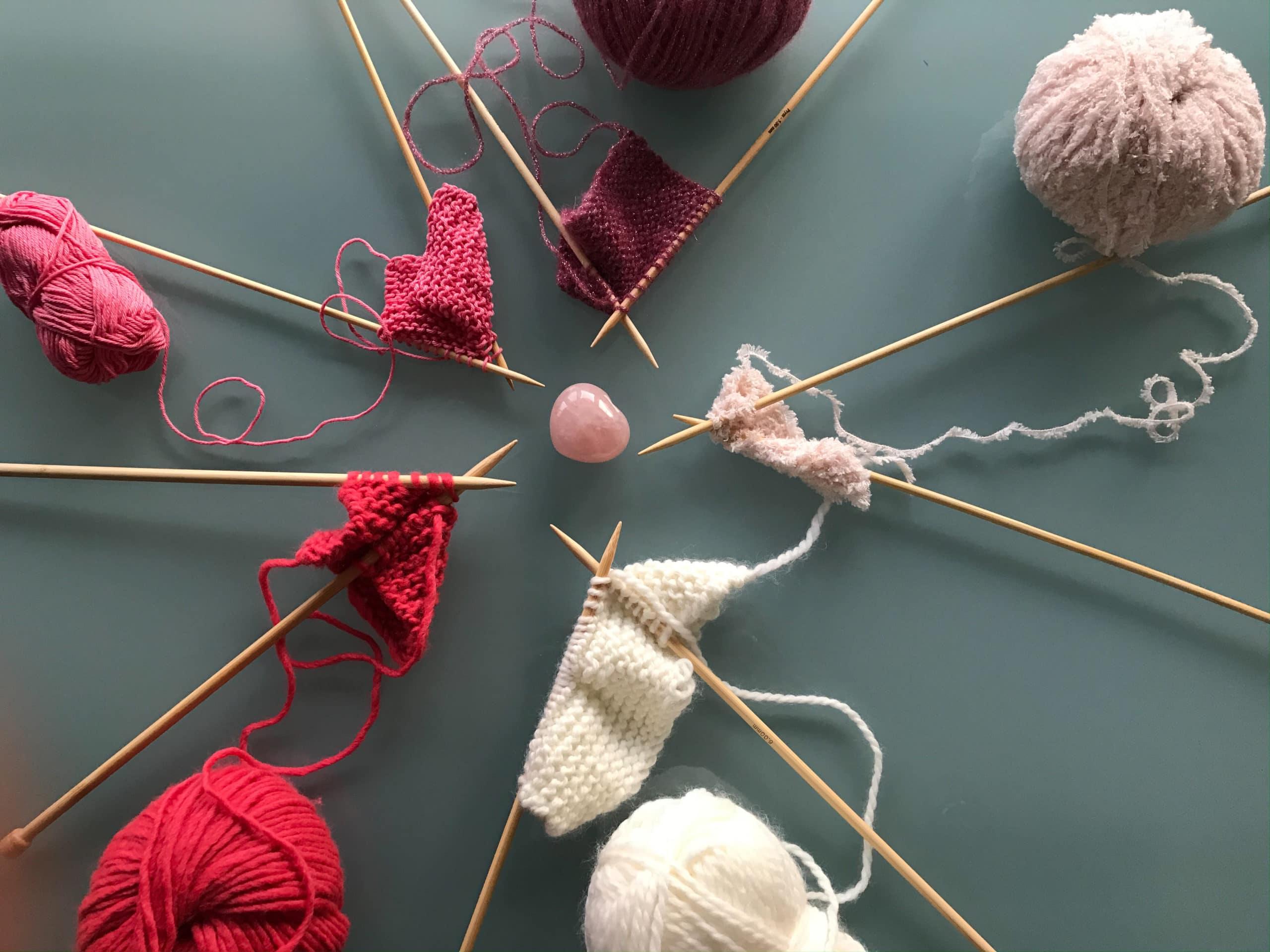 aiguilles pelotes laine tricot bienveillancefab