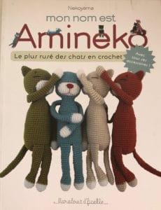 Livre amineko crochet chat tricot laine
