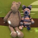 Doudou projet paloma crochet fil laine