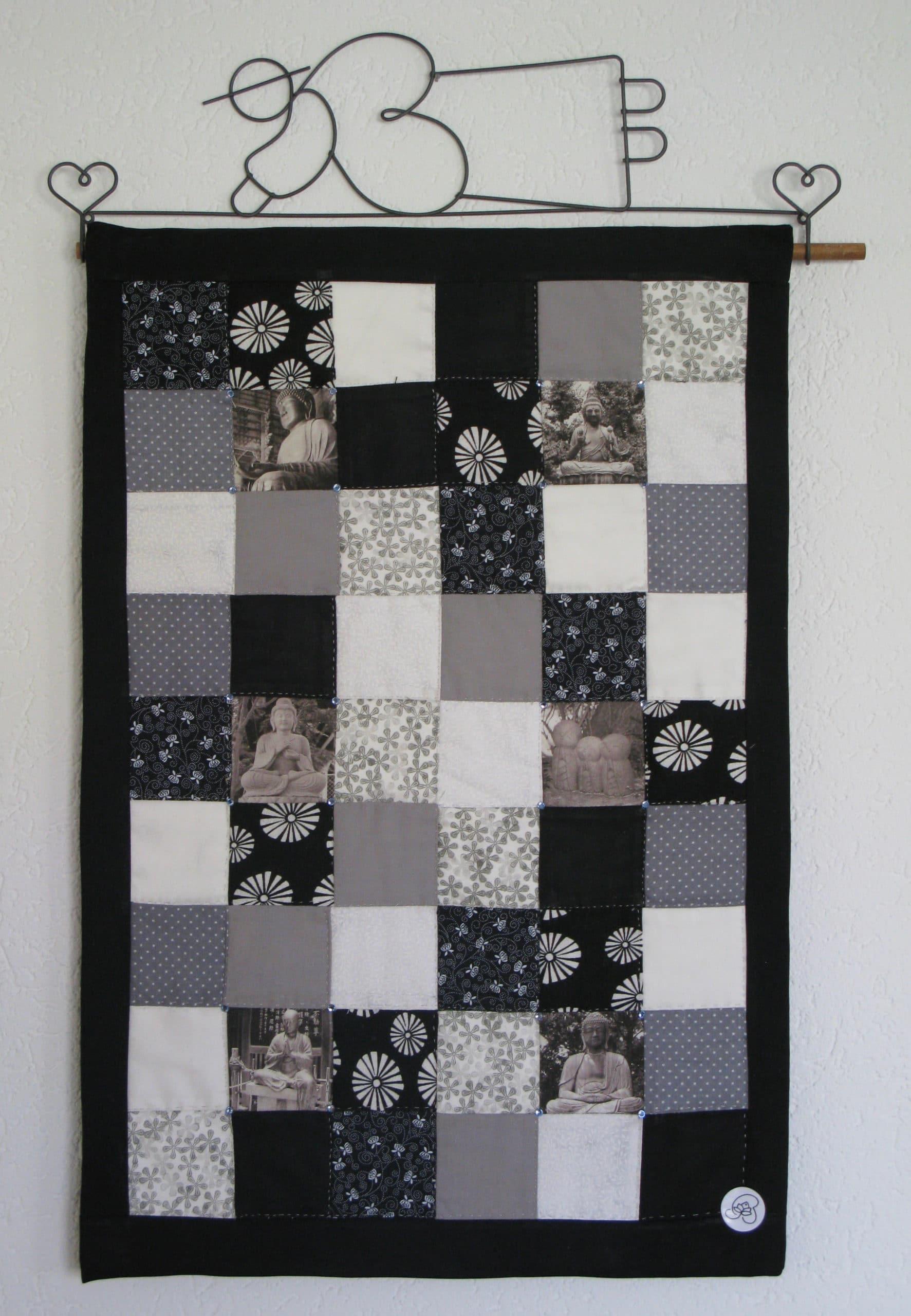 Patchwork souvenir japon tissu couture Bienveillancefab