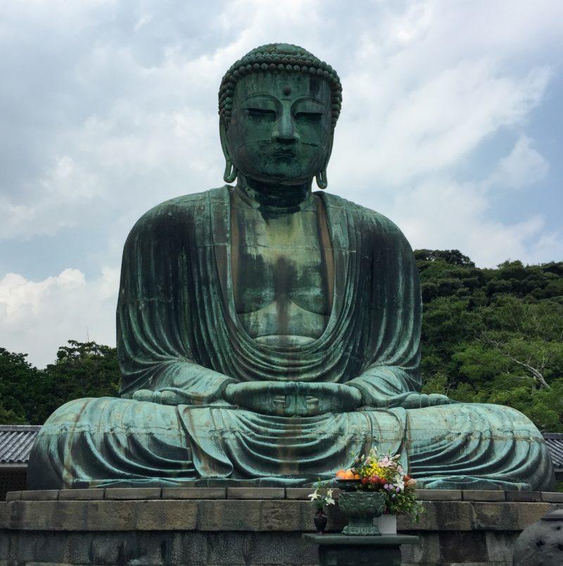 Statue bouddha japon kamakura méditation bonheur