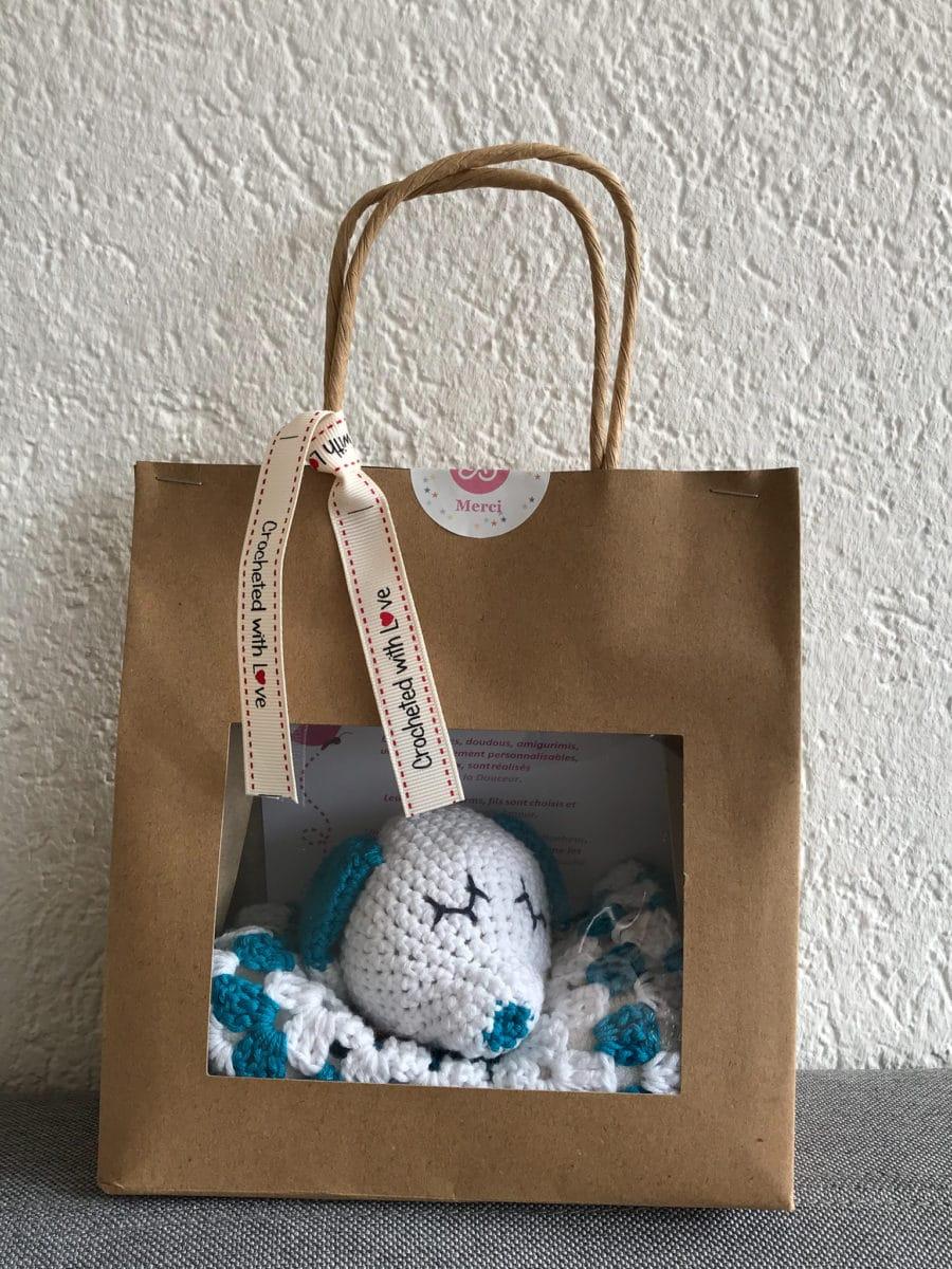 amigurumi doudou personnalisé au crochet fait main | Boutique création Suisse crochet