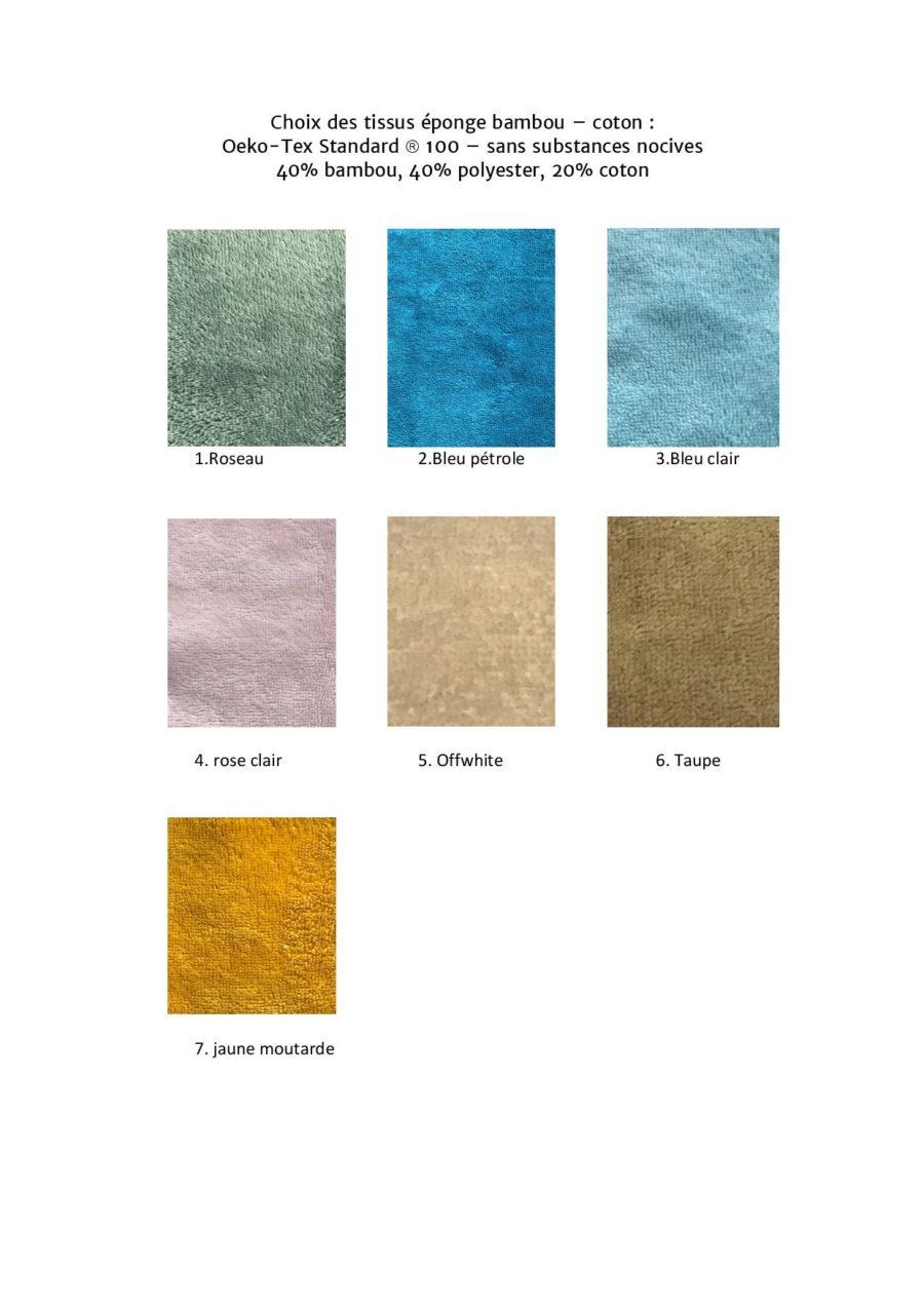 boutique création suisse crochet choix des tissus épondes bambon-coton éco friendly pour doudou plat chien personnalisable