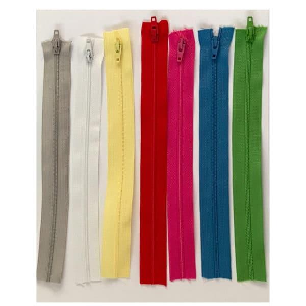 choix des coloris pour la fermeture éclair, trousse à colorier personnalisable, unique, swiss made, éco-friendly