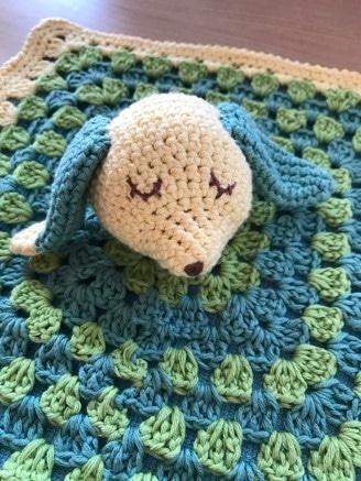 Boutique Suisse création crochet, Doudou personnalisé pour bébé au crochet