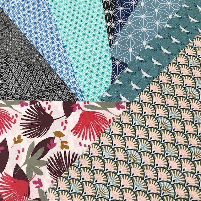 choix de tissus coton toile cirée pour atelier de couture